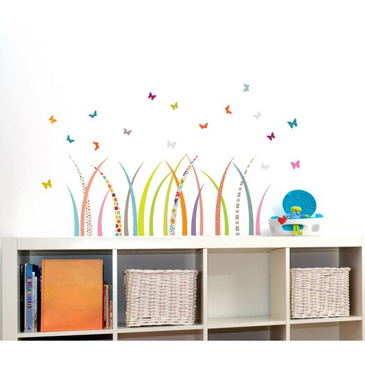 Room Mates Mia and Co Meadow Wall Decal