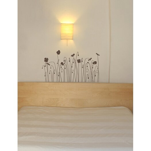 Room Mates Mia and Co Floral Arc Wall Decal