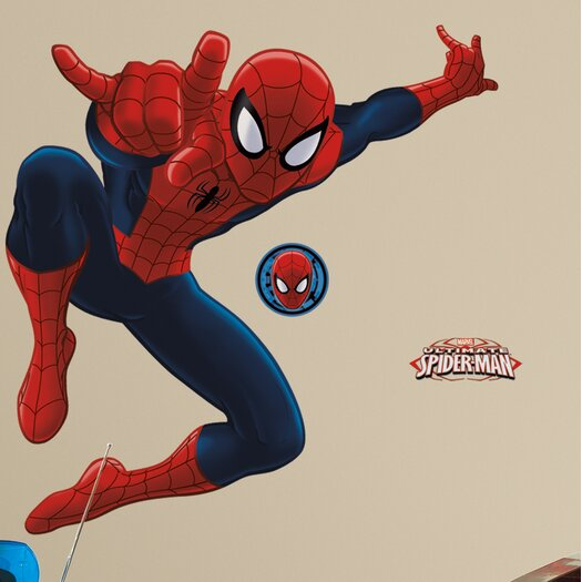 Room Mates Spider-Man Ultimate Giant Wall Decal
