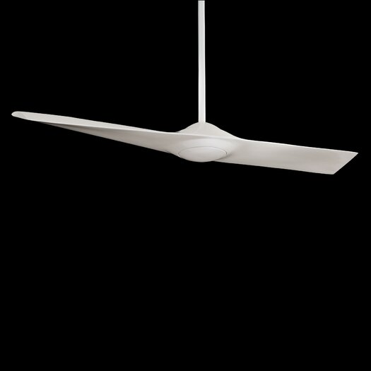 "Minka Aire 52"" Wing 1 Blade Ceiling Fan with Remote Control"