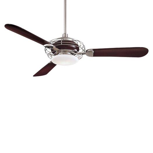 "Minka Aire 52"" Acero Retro 3 Blade Ceiling Fan"