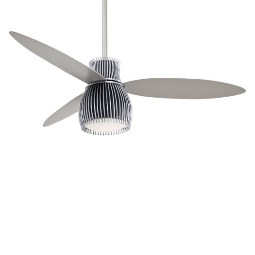 """Minka Aire 56"""" Uchiwa 3 Blade Ceiling Fan with Remote"""