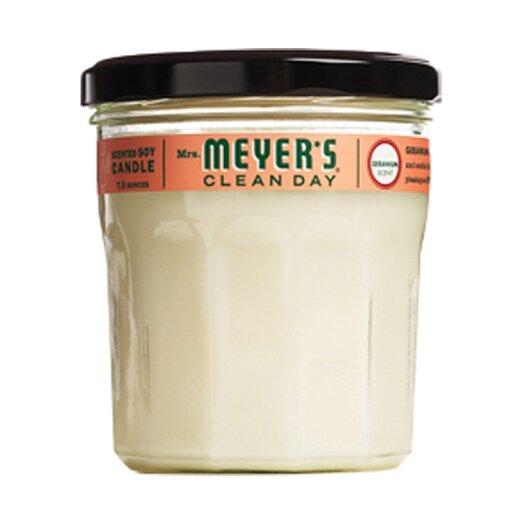 Mrs. Meyers Geranium Soy Candle