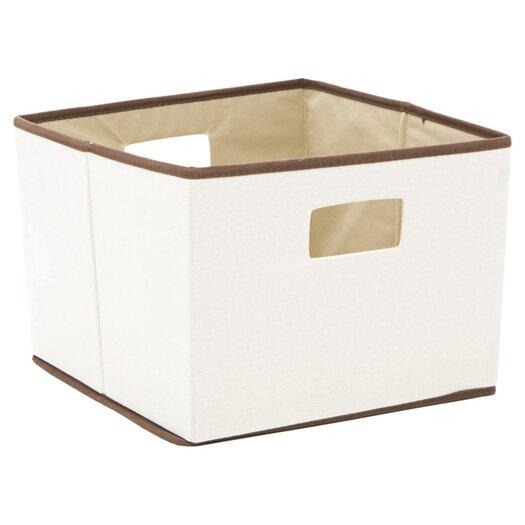 Household Essentials Brown Trimmed Storage Bin