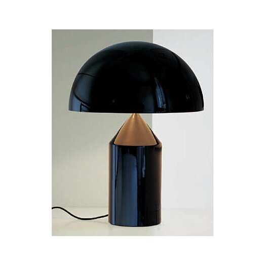 """Oluce Atollo 27.58"""" H Table Lamp with Bowl Shade"""
