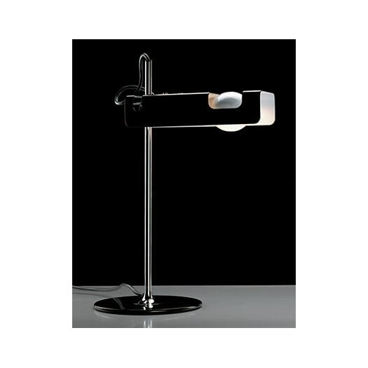 "Oluce Spider 15.7"" H Table Lamp with Rectangular Shade"
