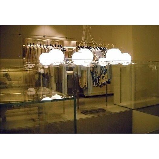 """Oluce Plateau 74.8"""" Suspension Lamp"""