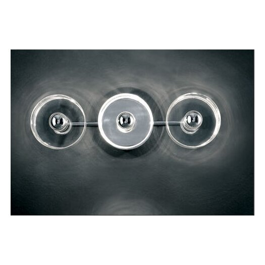 Oluce Fiore Three Lights Wall / Ceiling Lamp