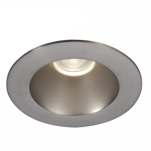 """WAC Lighting LED Downlight Open Round 3"""" Recessed Trim with 28 Degree Beam Angle"""
