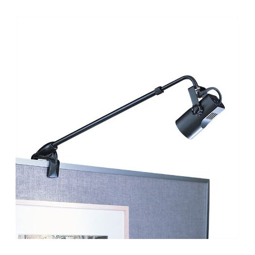 WAC Lighting Adjustable Clamp 1 Light Picture Light