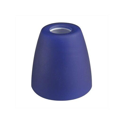 WAC Lighting Deep Bell Glass Track Head Shade