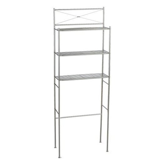 "Zenith Products 23.6"" x 65.6"" Over the Toilet Bathroom Shelf"