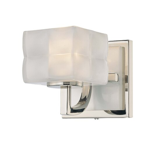 George Kovacs by Minka Squared 1 Light Wall Sconce