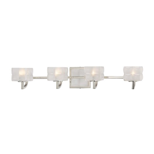 George Kovacs by Minka Squared 4 Light Vanity Light