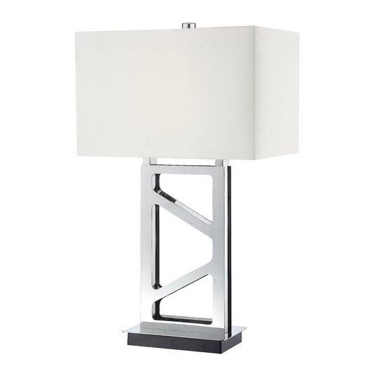 """George Kovacs by Minka Portables 29.5"""" H Table Lamp with Rectangular Shade"""