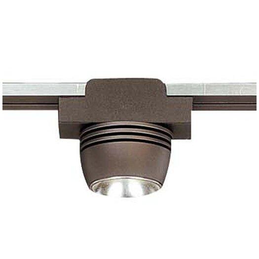 George Kovacs by Minka Lightrail 1 Light LED Spot Head With Diffuser Track Head