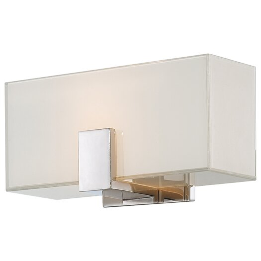 George Kovacs by Minka 1 Light Wall Sconce with Square Shades
