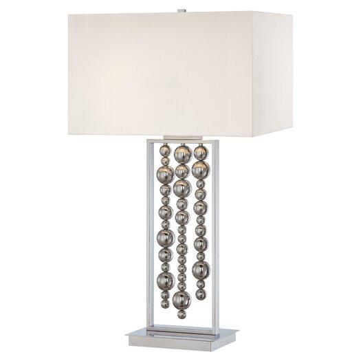 "George Kovacs by Minka 34"" H Table Lamp with Rectangular Shade"