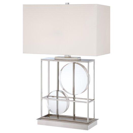 "George Kovacs by Minka 28"" H Table Lamp with Rectangular Shade"