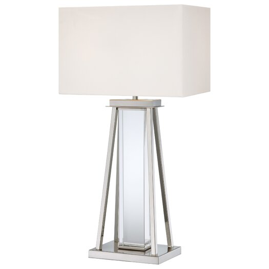 "George Kovacs by Minka 32.25"" H Table Lamp with Rectangular Shade"