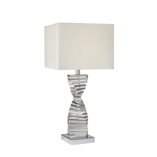 """George Kovacs by Minka Lamps 27"""" H Table Lamp with Square Shade"""