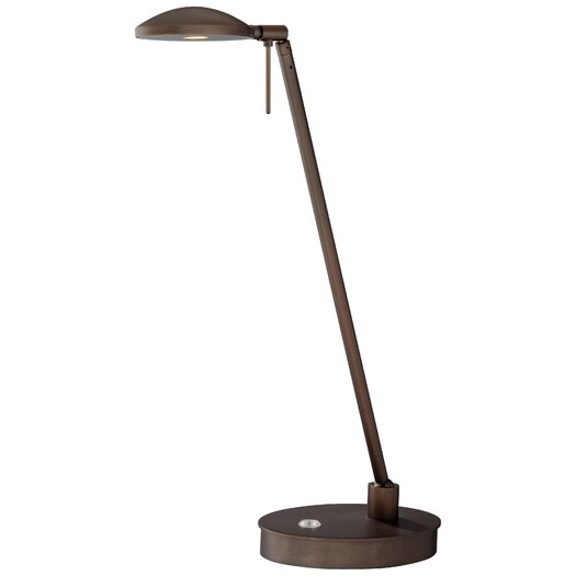 "George Kovacs by Minka George's Reading Room 19.5"" H Table Lamp with Bowl Shade"