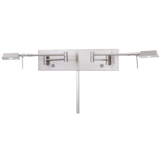George Kovacs by Minka Save Your Marriage 2 Light Swing Arm Wall Lamp