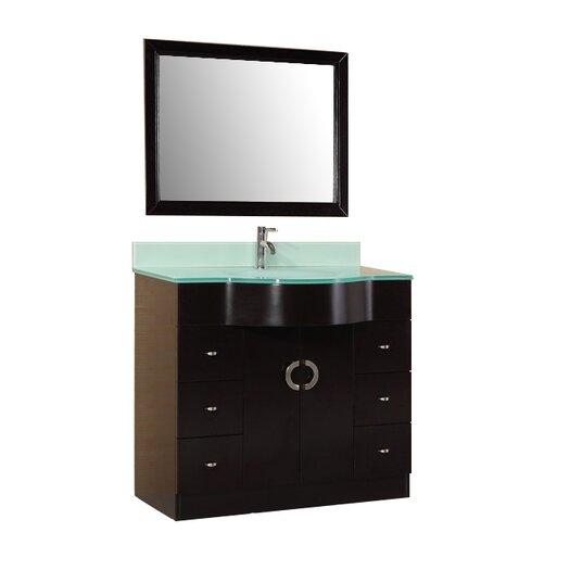 Design Element Aria 40 Single Modern Bathroom Vanity Set