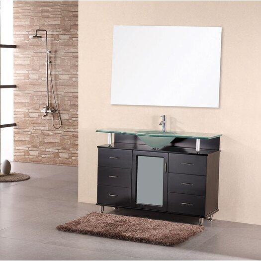 """Design Element Huntington 48"""" Single Bathroom Vanity Set"""