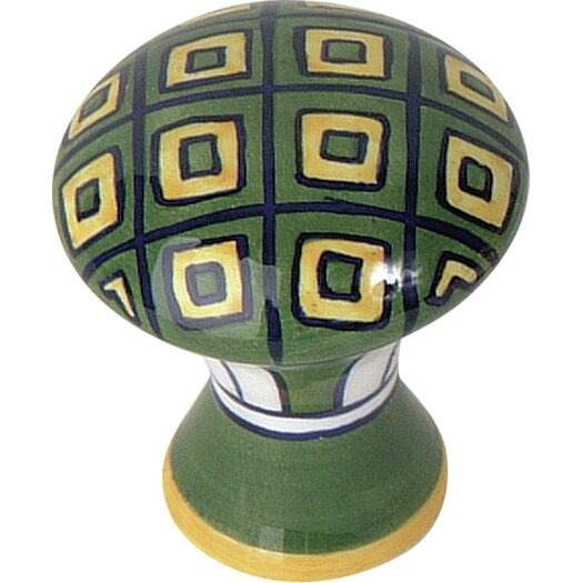 Atlas Homewares Ceramic Mushroom Knob