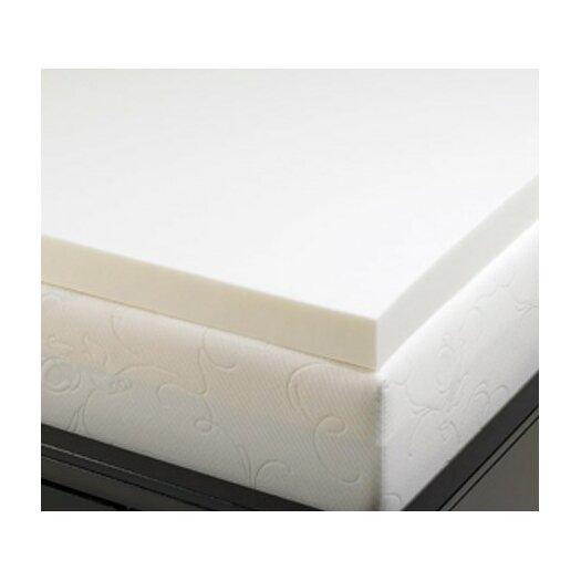 """Deluxe Comfort 2"""" Memory Foam Mattress Topper"""