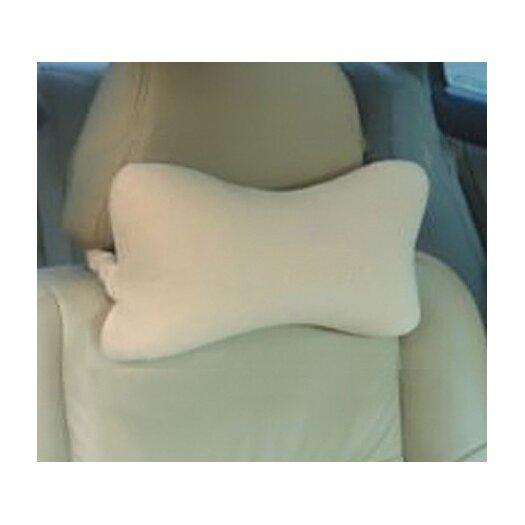 Deluxe Comfort Bone Neck Cotton Bed Rest Pillow