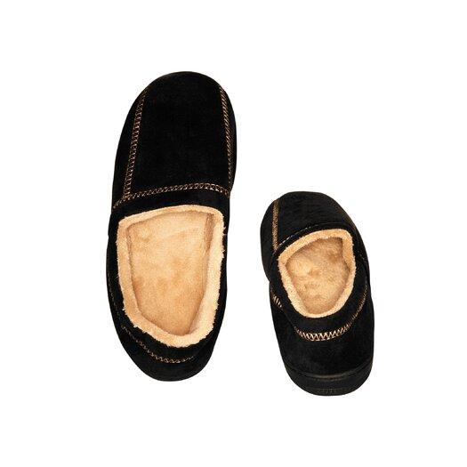 Deluxe Comfort Suede Fleece Men's Slipper