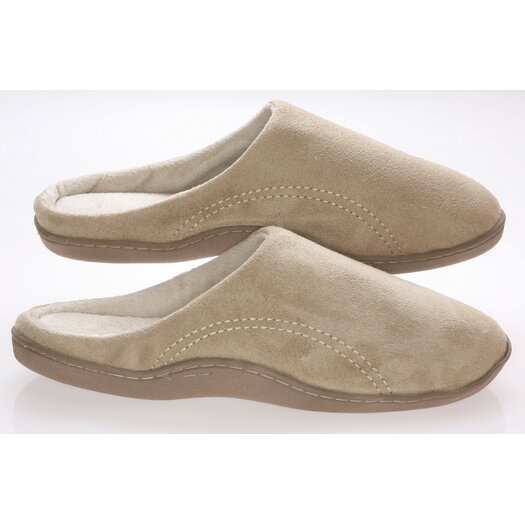 Deluxe Comfort Mens Slippers with Side Stitches