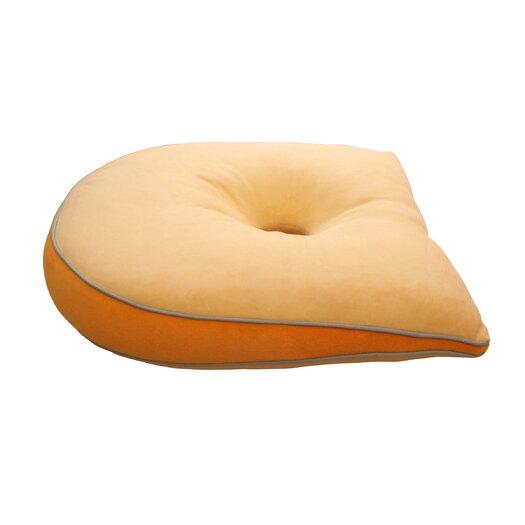 Deluxe Comfort Memory Foam Tilted Cushion in Yellow