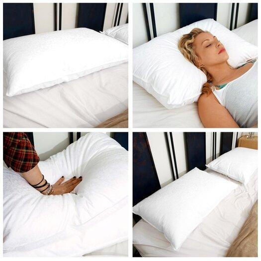 Deluxe Comfort Down Alternative Allergy Free Pillow