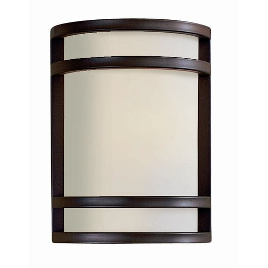 Great Outdoors by Minka Bay View 1 Light Outdoor Flush Mount