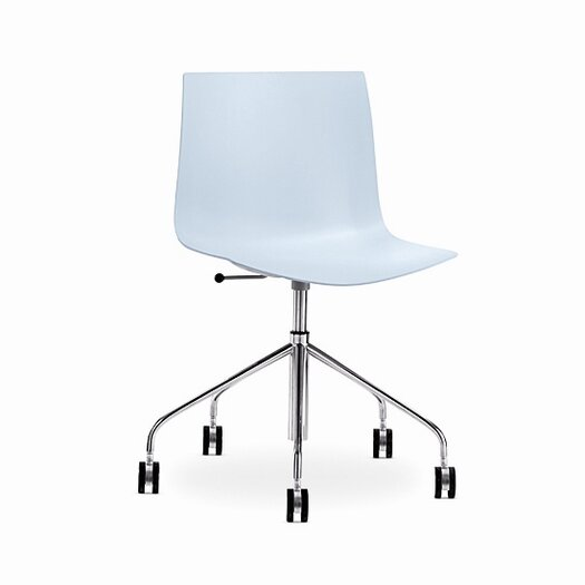 Catifa 46 Polypropylene 5-Way Swivel Task Chair with Gas Lift on Castors