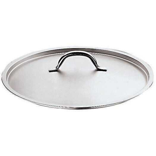 Paderno World Cuisine Stainless Steel Lid with Riveted Handle