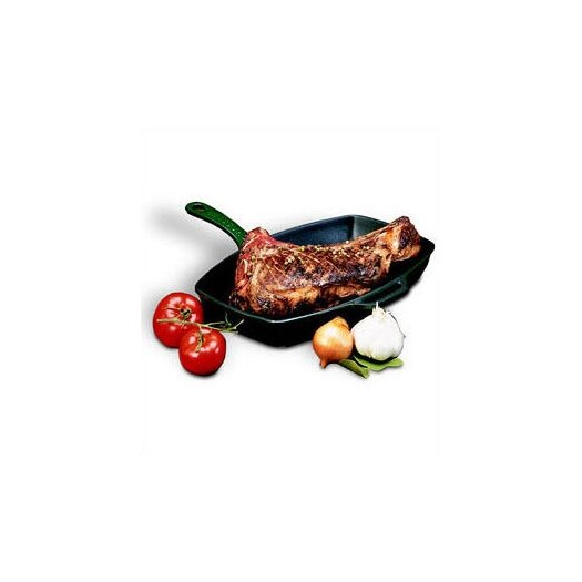 "Paderno World Cuisine Cast Iron 9"" x 12"" Grill Pan"