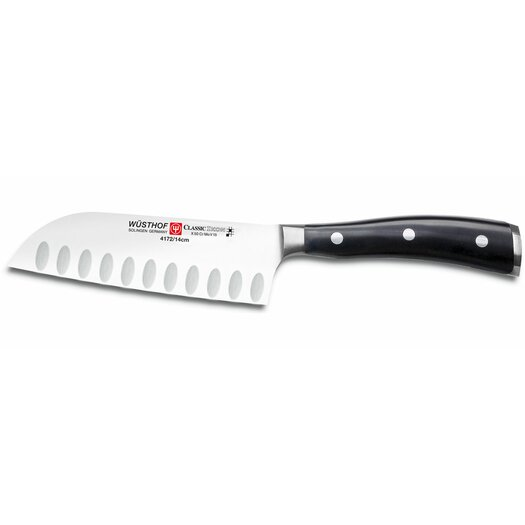 Wusthof Classic Ikon Hollow Edge Santoku Knife