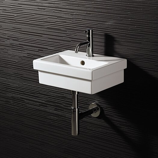 Bissonnet area boutique logic 40 ceramic bathroom sink for Ceramic bathroom bin