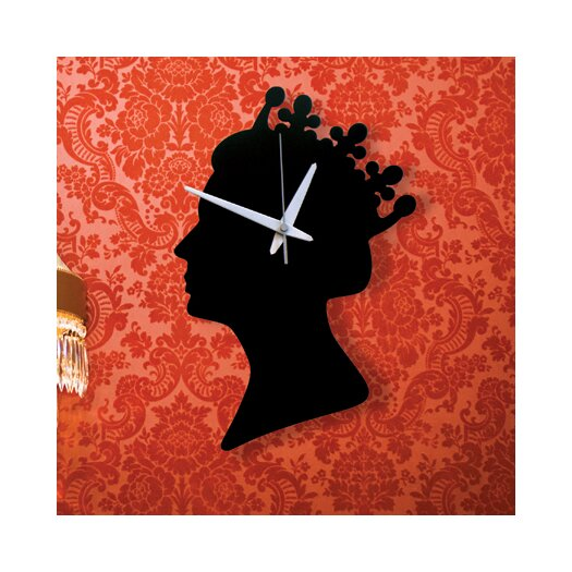 "Naked Decor British Invasion 13"" Wall Clock"