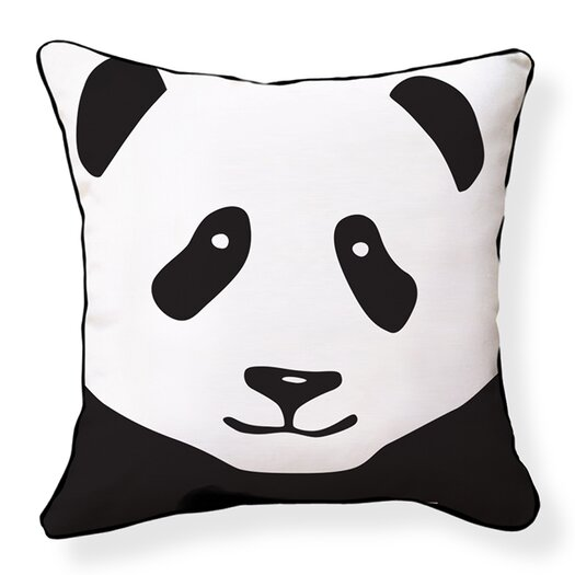 Naked Decor Giant Panda Cotton Throw Pillow