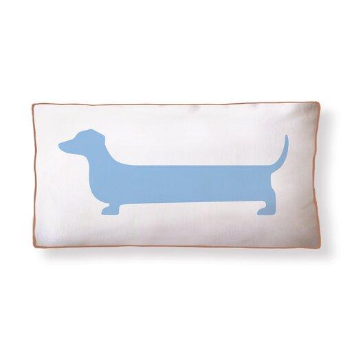 Naked Decor Dachshund Super Long Cotton Boudoir/Breakfast Pillow