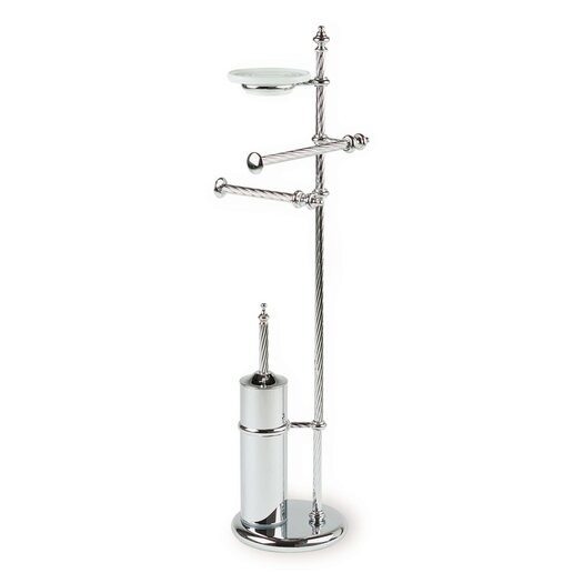 """Stilhaus by Nameeks Giunone 29.5"""" Free Standing Classic Style Four Function Bathroom Butler"""