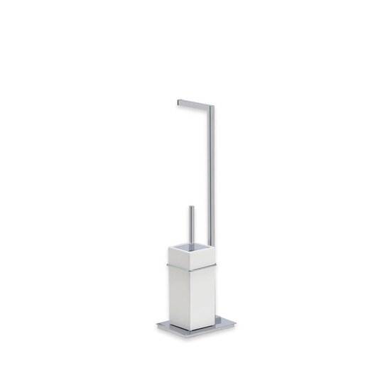 Stilhaus by Nameeks Urania Free Standing Two Function Bathroom Butler in Chrome