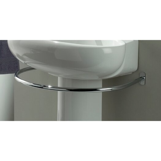 Stilhaus by Nameeks Fluid Wall Mounted Towel Bar