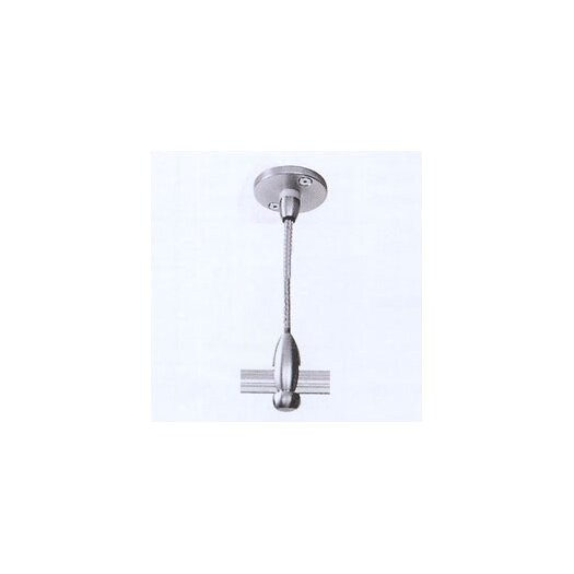 """LBL Lighting 2.75"""" Single-Post Power Feed Canopy for Fusion Monorail Track Lighting"""