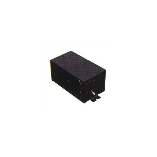 LBL Lighting Fusion Monorail 150W Remote Magnetic Transformer with Black Metal Housing